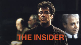 The Insider (1999) on Netflix in Canada